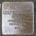 Stolperstein Bocholt Königstraße 9 Adolf Blumenthal.jpg