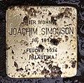 Stolperstein Georg-Wilhelm-Str 2 (Halsee) Joachim Simonson.jpg