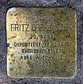 Stolperstein Hohenzollerndamm 4 (Wilmd) Fritz Oberländer.jpg