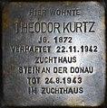 Stolperstein Salzburg, Theodor Kurtz (Linzer Gasse 28).jpg