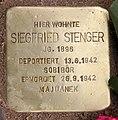 Stolperstein Seesener Str 50 (Halsee) Siegfried Stenger.jpg