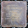 Stolperstein Trude Rosenblatt (Wetzlarer Straße 31 Butzbach) alt.jpg