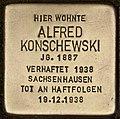 Stolperstein für Alfred Konschewski (Cottbus).jpg