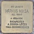 Stolperstein für Miksa Markus (Budapest).jpg