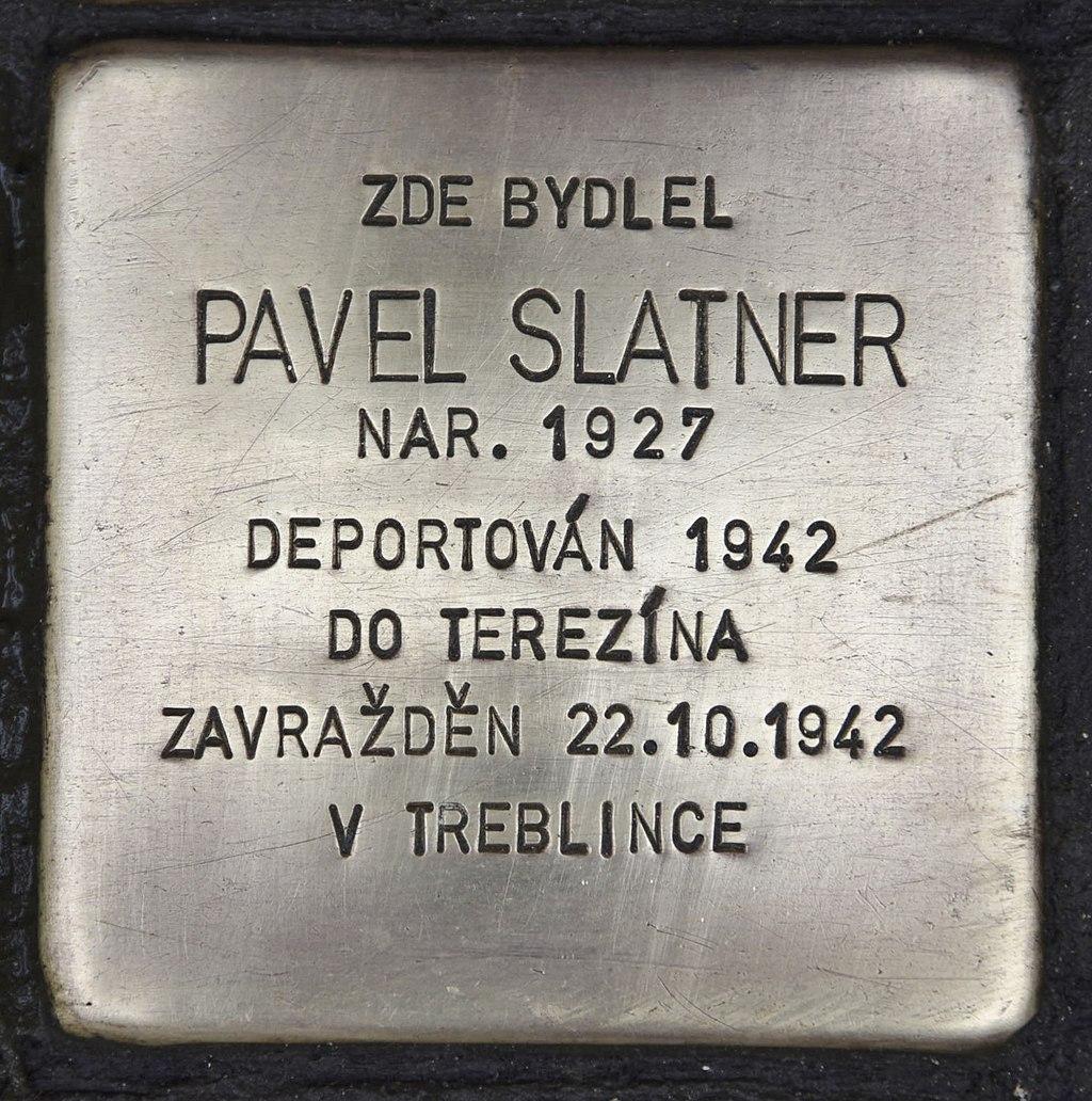 Stolperstein für Pavel Slatner.JPG