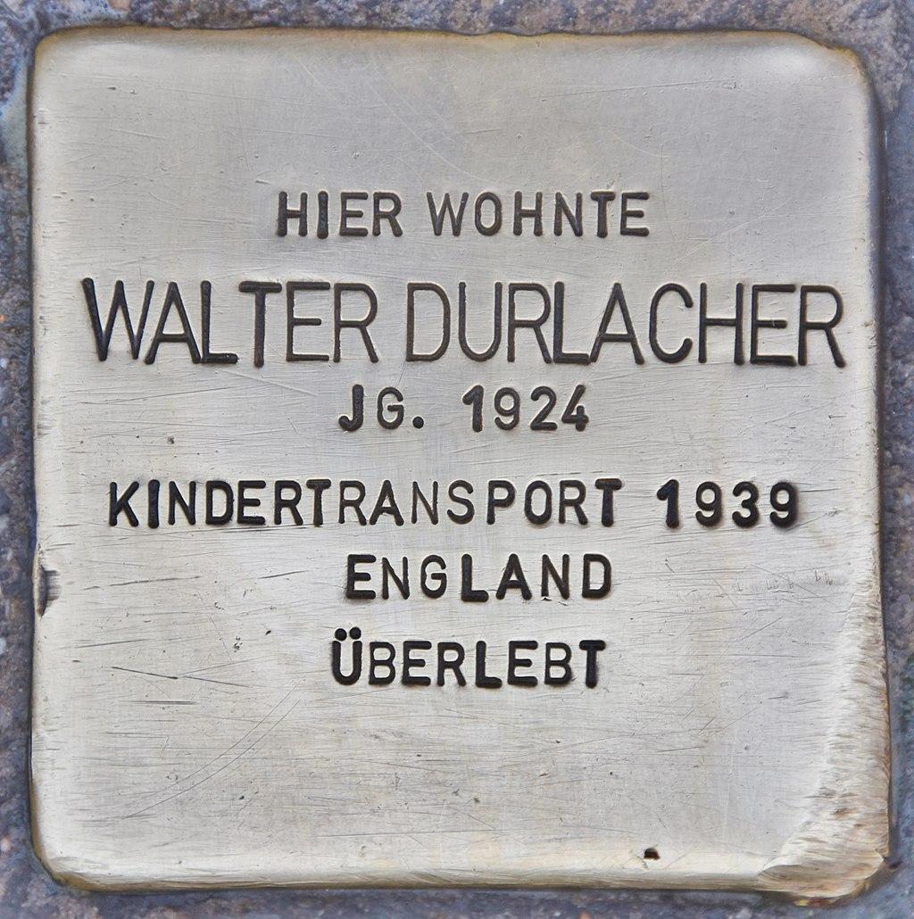 Stolperstein für Walter Durlacher (Heidelberg).jpg