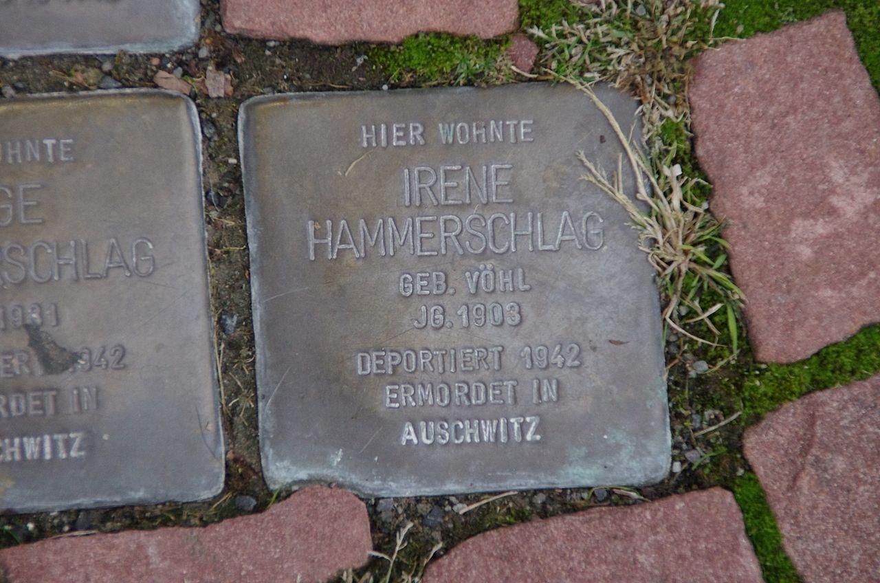 Stolpersteine Irene Hammerschlag Bad Wildungen.jpg