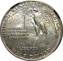 Stone Mountain Memorial half dollar reverse.jpg