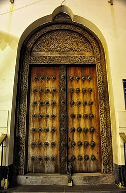 Stone Town Door (7927089064)