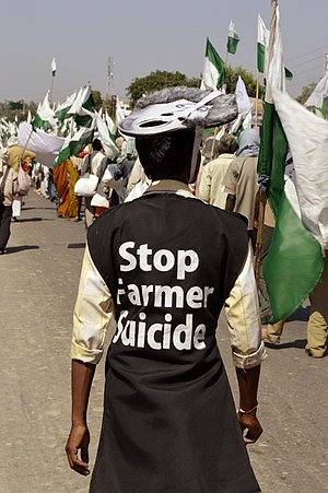 Farmers' suicides in India - A group bringing attention to farmer suicide issue