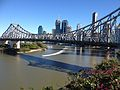 Story Bridge, Brisbane CBD Skyline July 2014. 02.JPG