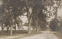 East Parsonsfield in 1917