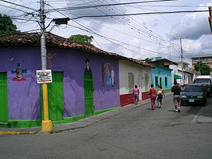 Cúa - Typical street of the town