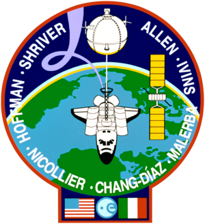 Franco Malerba - Image: Sts 46 patch