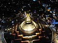 Stupa von Bodhnat by night, Kathmandu, bird's eye view.jpg