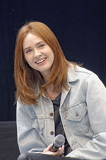 Karen Gillan Scottish actress, director and screenwriter