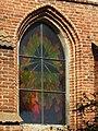 Suchy Dąb, kostel, okno.JPG