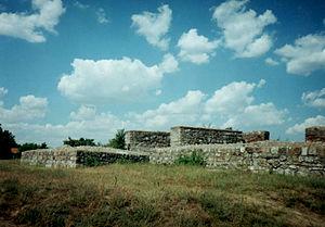 Oltenia - Sucidava - ancient Roman citadel at Corabia