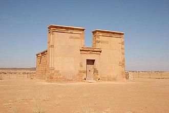 Arnekhamani - Image: Sudan tempel of musawwar es sufra