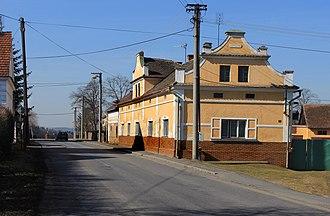 Sulislav - Image: Sulislav, road to Stříbro