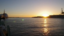 File:Sunset freo inner harbour gnangarra.ogv