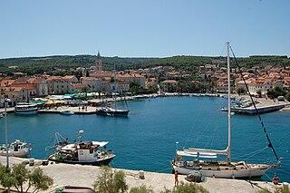Supetar Town in Split-Dalmatia, Croatia