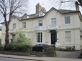 Thomas Pooley - Image: Surbiton Claremont Road 2