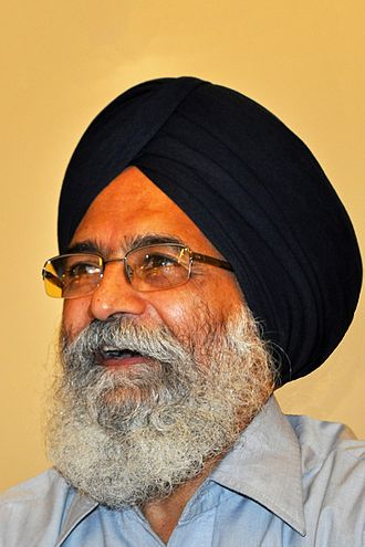 Punjabi literature - Dr. Surjit Patar, an prominent Punjabi writer, poet and lecturer at Guru Nanak Dev University