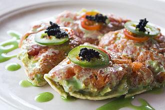 Sushi pizza - Image: Sushi pizza (1)