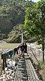 Suspension Bridge Joining Kailashmandu and Bamta over BudhiGanga River.jpg