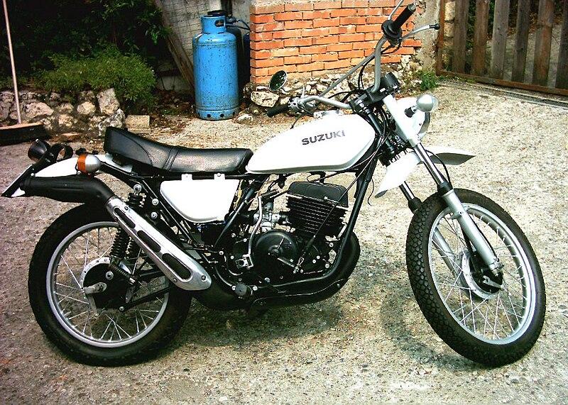 Suzuki Rm History