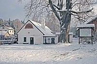 Svobodné Hamry, vodní kovací hamr v zimě .jpg