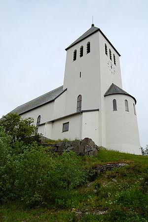 Svolvær Church - Image: Svolvaer Church 2009