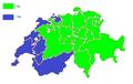 Swiss EEA membership referendum, 1992 result by cantons.png