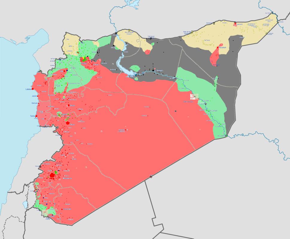 Syrian civil war 09-05-14