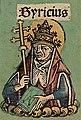 Syricius (Nuremberg chronicles f 131v 1.).jpg