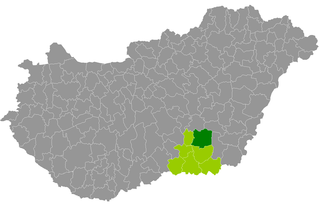 Szentes District Districts of Hungary in Csongrád