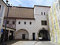 Třeboň, Budějovická brána, z Husovy (01).jpg