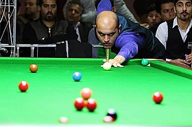 TEHRAN (Tasnim) – Amir Sarkhosh from Iran claimed a gold medal at the Snooker Single 15-Red event of ACBS 1st Asian Billiards Sports Championship.jpg