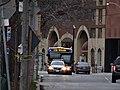TTC bus 7700 on the Esplanade, 2014 12 28 -a (15972523607).jpg
