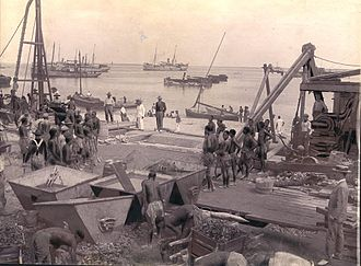 Sofala Province - Port of Beira in 1902