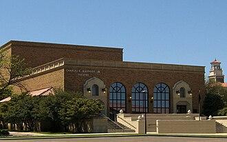 Texas Tech University School of Music - Image: T Ttheat