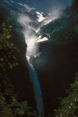 Smithers, British Columbia - Twin Falls near Smithers