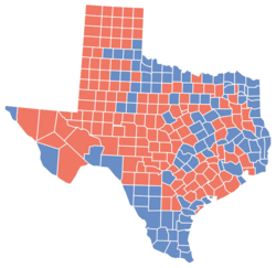 Texas Gubernatorial Election Wikipedia - 2016 us election electoral map texas