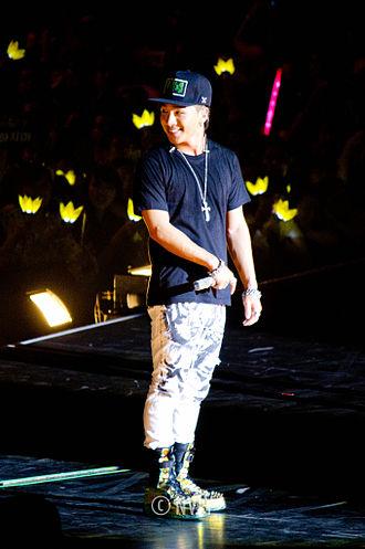 Taeyang - Taeyang performing on Big Bang's Alive World Tour in 2012