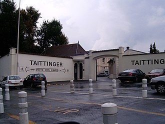 Taittinger - Taittinger caves