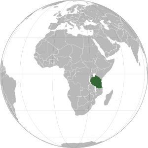 Tanzania (orthographic projection).svg