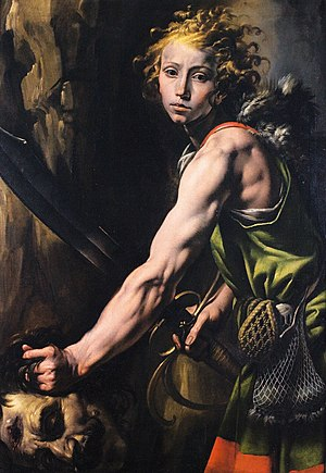 Varallo Sesia - Tanzio da Varallo, David and Goliath, c.1625 (Pinacoteca civica, Varallo)