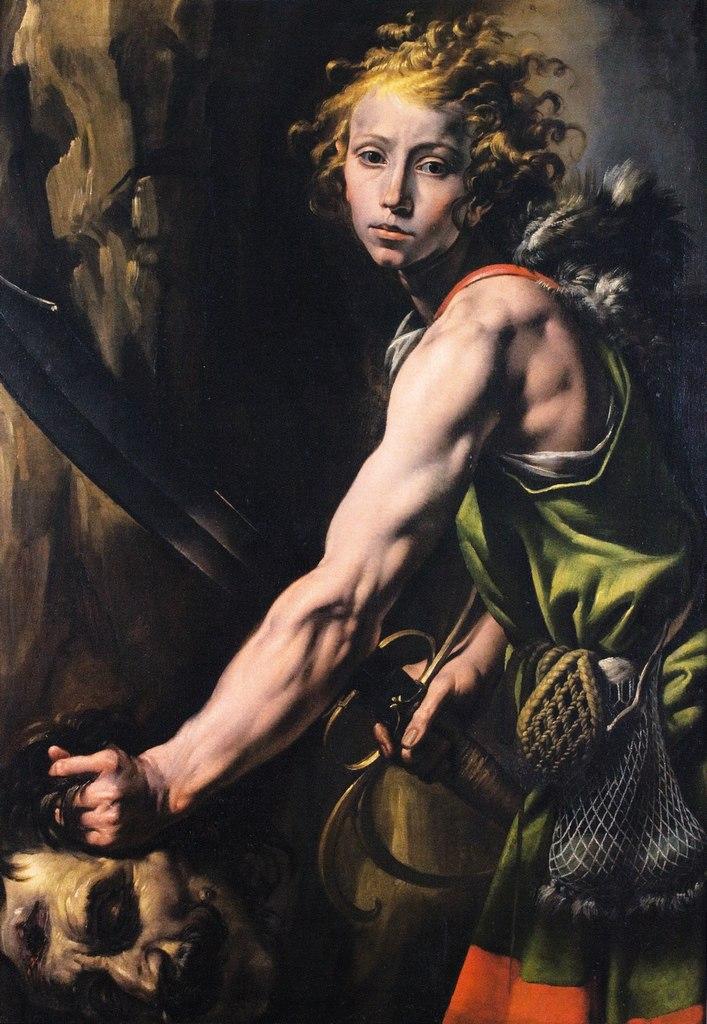 Tanzio da Varallo, Davide e Golia, ca. 1625 (Museo civico, Varallo)