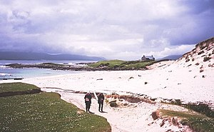 Taransay - The beach at Paible, Taransay.